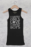 Black - Juniors CGs Heart CBs Tank