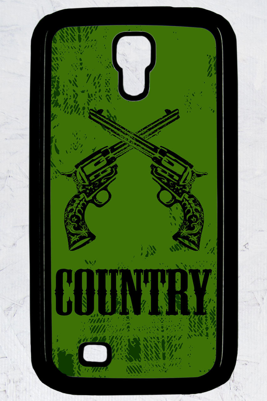Country Girl® - Country Crossed Guns Galaxy S4 Phone Case