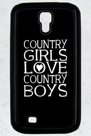 Country Girl® - Heart CB Galaxy S4 Phone Case