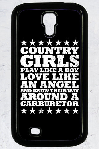 Country Girl® - Carburetor Galaxy S4 Phone Case