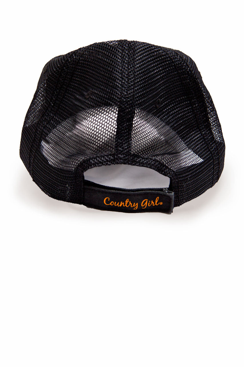 Country Girl® - Women's Deer Head Orange Trucker Hat
