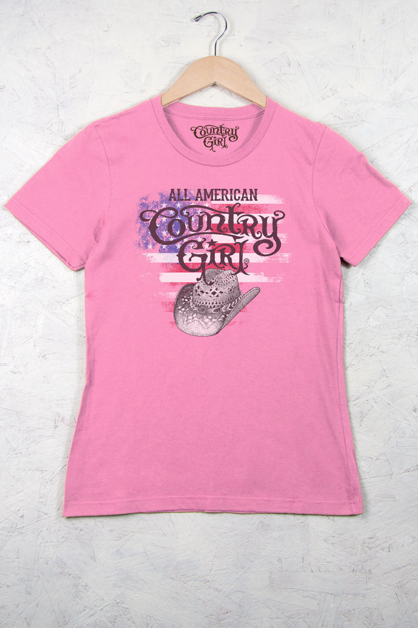 Charity Pink - Women's All American Short Sleeve Tee