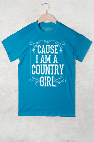 Caribbean Blue - Women's Cause I'm A CG Full Figure Short Sleeve Tee
