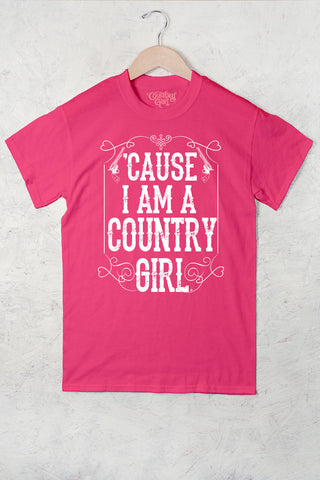 Hot Pink - Women's Cause I'm A CG Full Figure Short Sleeve Tee