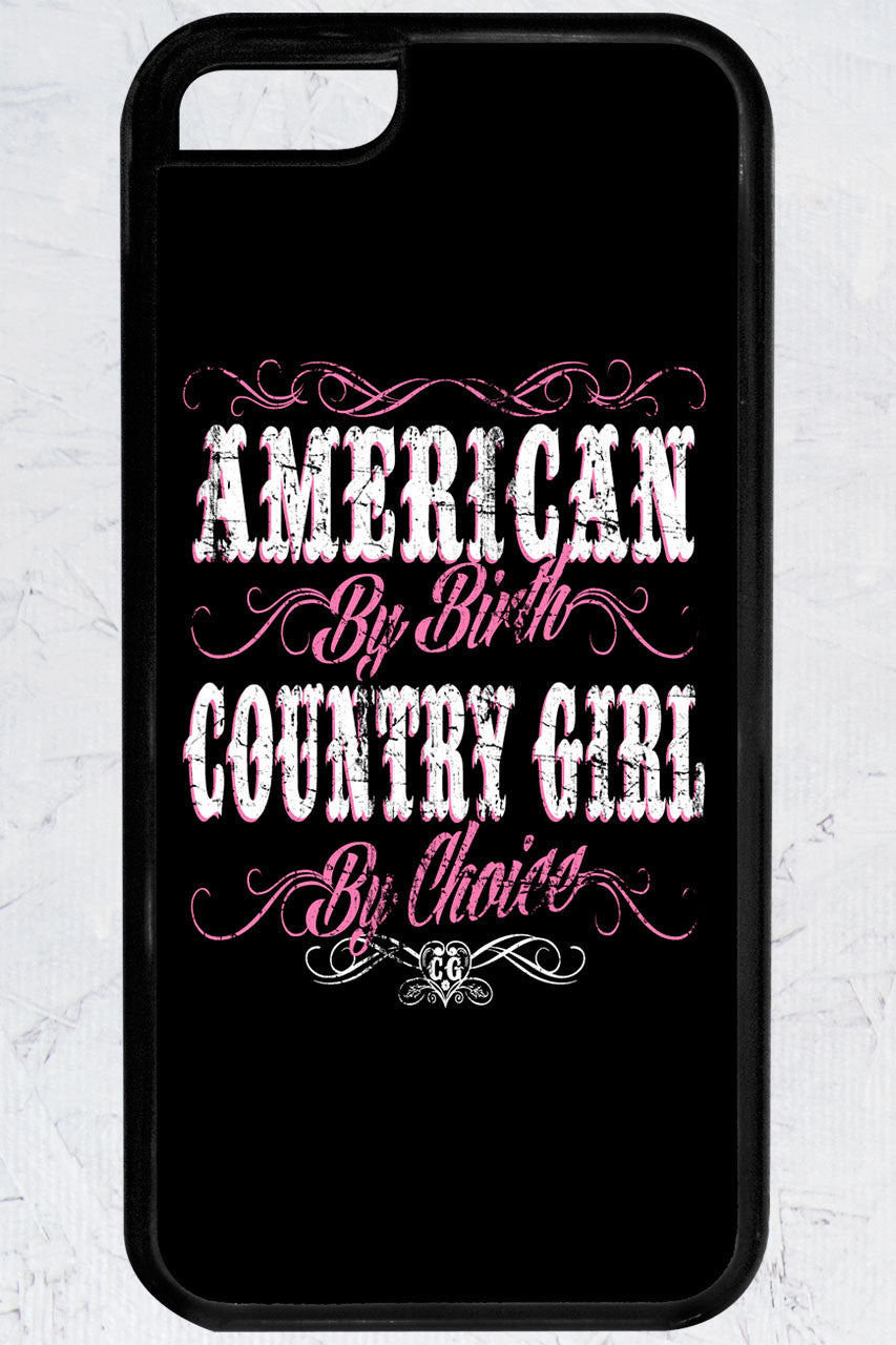 Country Girl® - American By Birth iPhone 5C Case