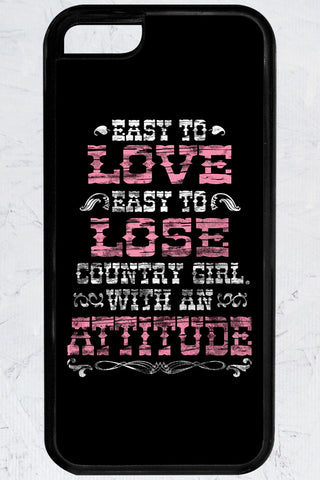 Country Girl® - Attitude iPhone 5C Case