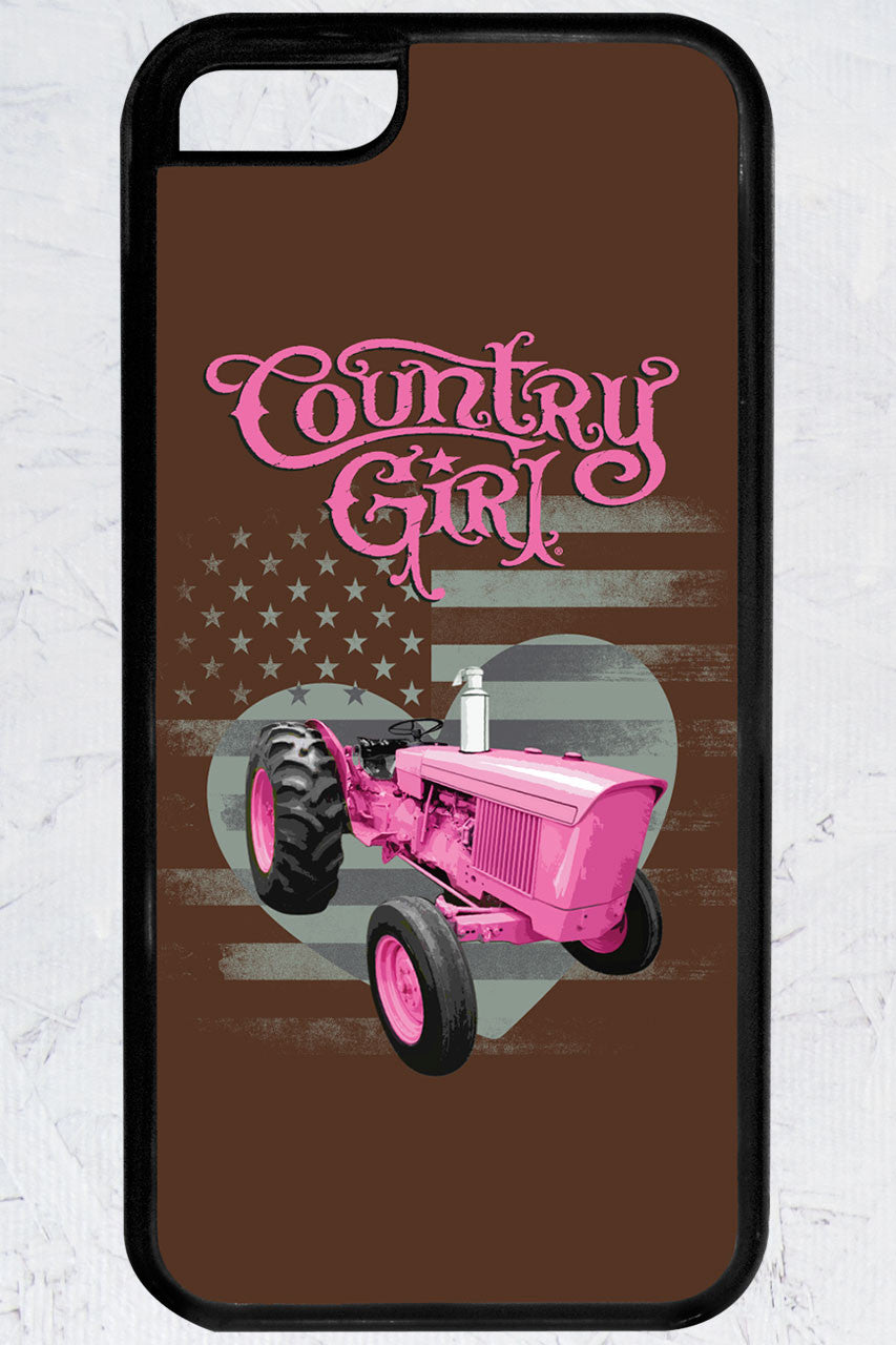 Country Girl® - Pink Tractor iPhone 5C Case
