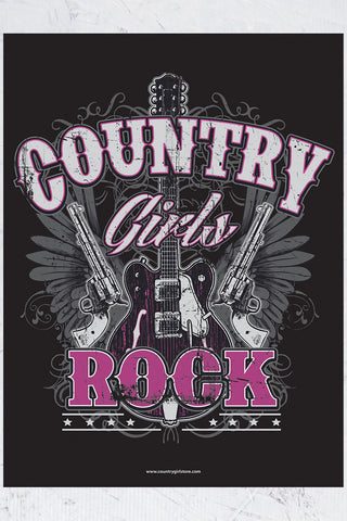 "Country Girl® - Rock 18"" x 24"" Poster"