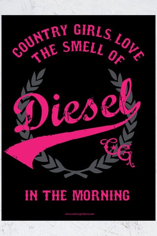 "Country Girl® - Diesel 18"" x 24"" Poster"