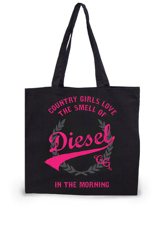 Smell of Diesel Lightweight Tote Bag