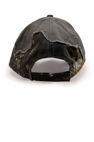Country Girl® - Women's Country Rebel Frayed Mossy Oak® Cap