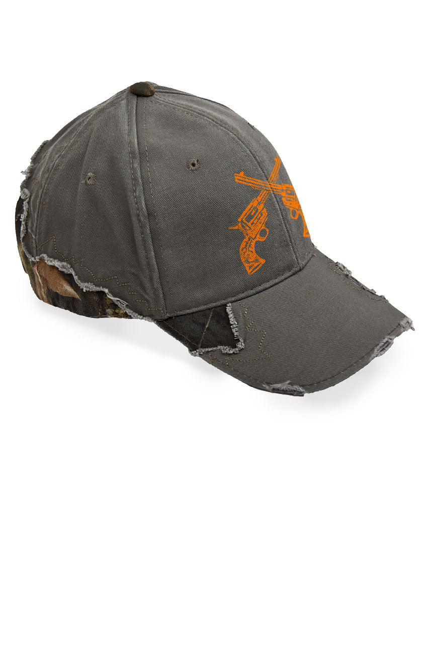 Women's Crossed Guns Frayed Mossy Oak® Cap