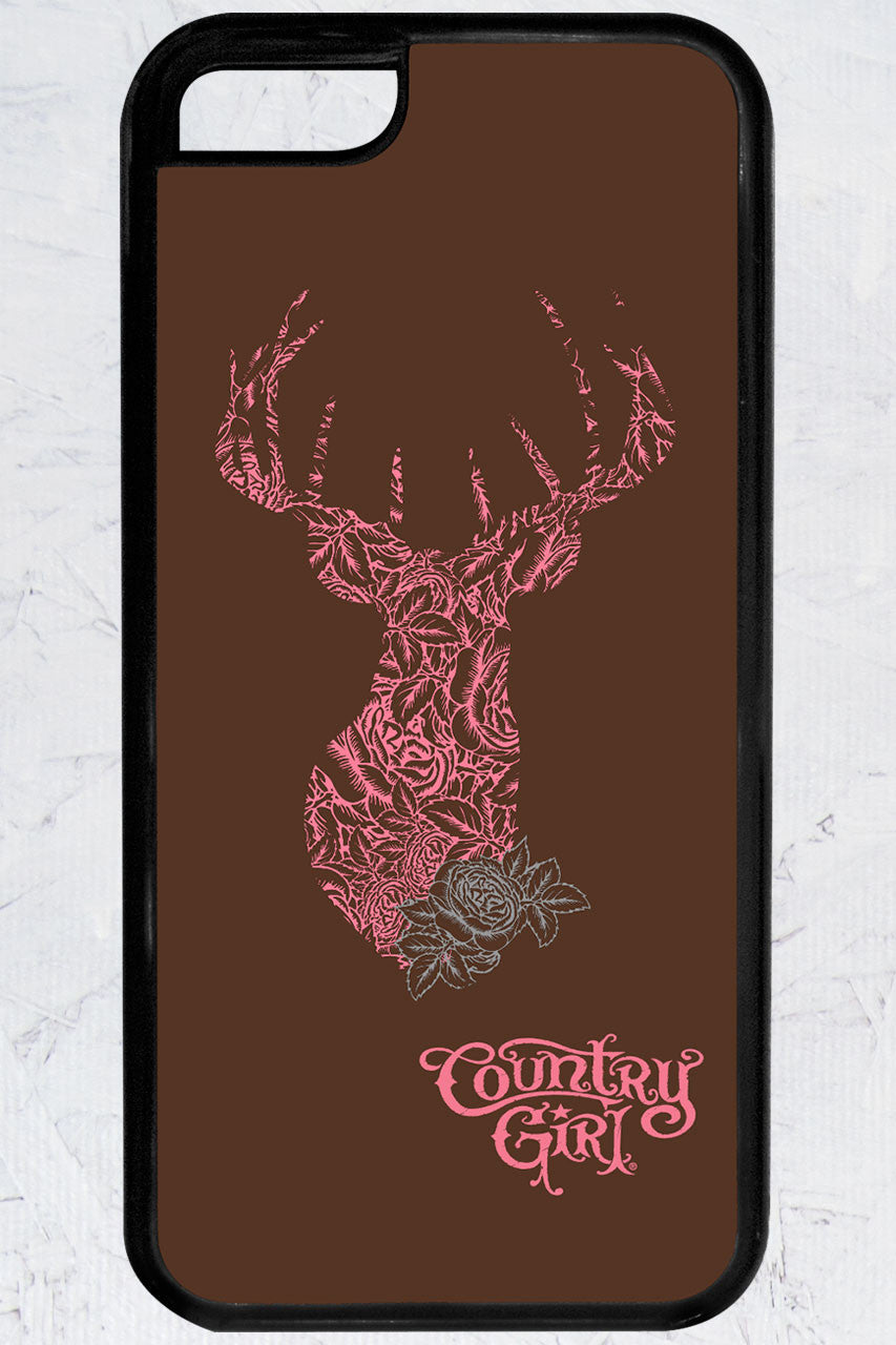 Country Girl® - Deer Rose iPhone 5C Case