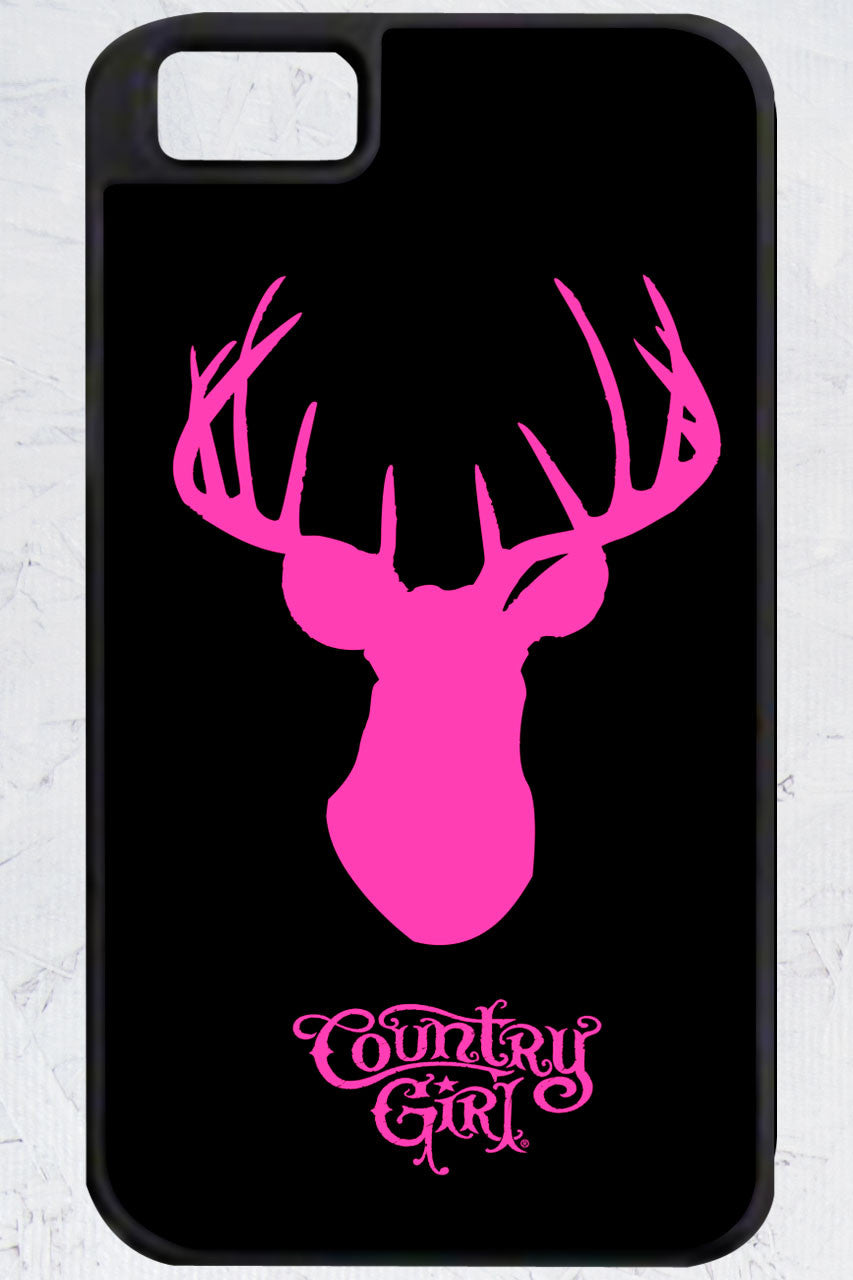 Country Girl® - Deer Head iPhone 4/4s Case
