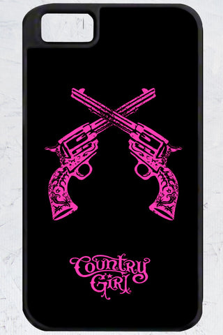 Country Girl® - Crossed Guns iPhone 4/4s Case