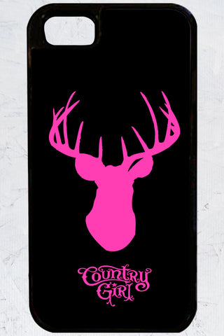 Country Girl® - Deer Head iPhone 5/5s Case