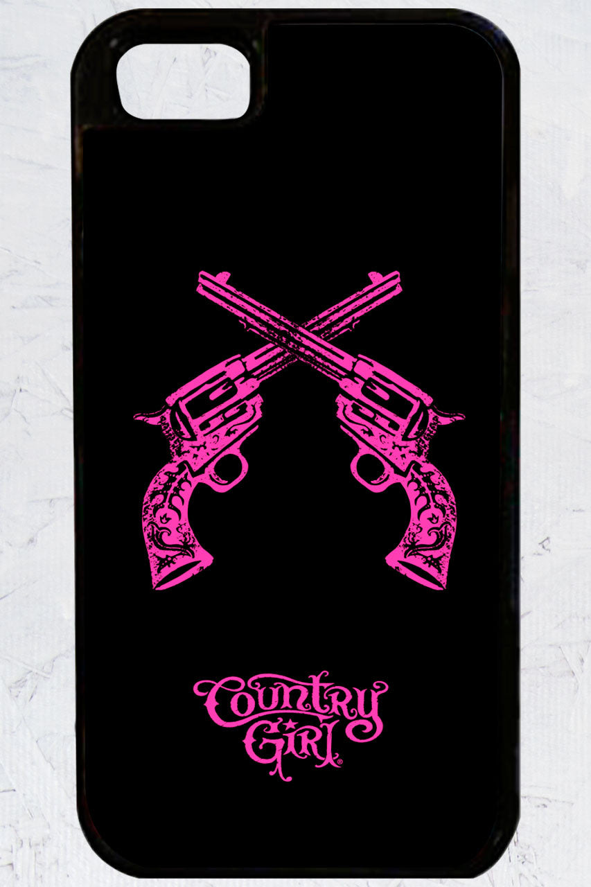 Country Girl® - Crossed Guns iPhone 5/5s Case