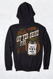 Black - Men's Git Yer Shine On Pullover Hoodie