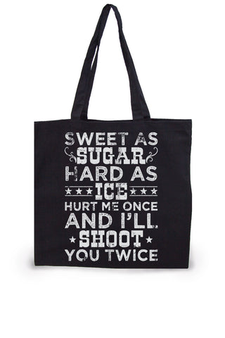Shoot Twice Lightweight Tote Bag
