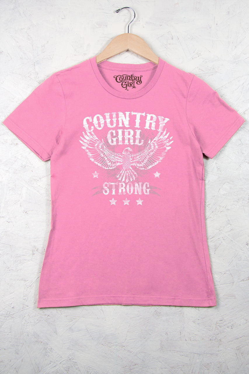 Charity Pink - Women's Strong Short Sleeve Tee