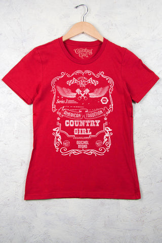 Red - Women's Speedway Short Sleeve Tee