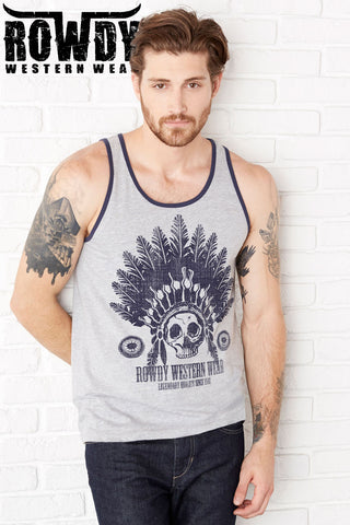 Athletic Heather - Men's American Original Vintage Tank
