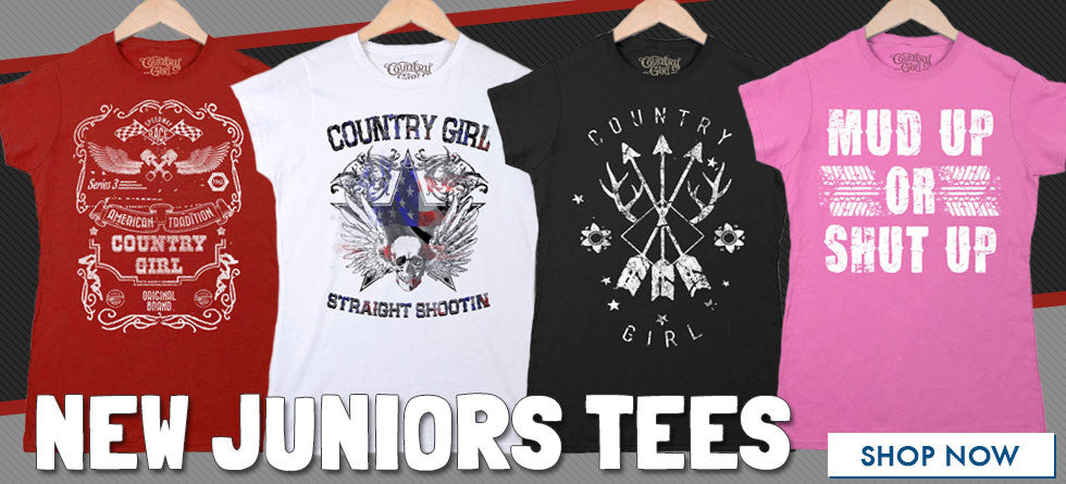 New Juniors Tees