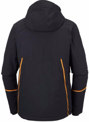 Herren Skijacke MILLENNIUM BLUR von Columbia in Schwarz / Orange-Men's Jacket-Columbia-SkiGala