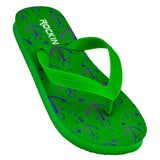 ROCKIN ANCHOR Kids Flip Flops  R-K198 (Green)