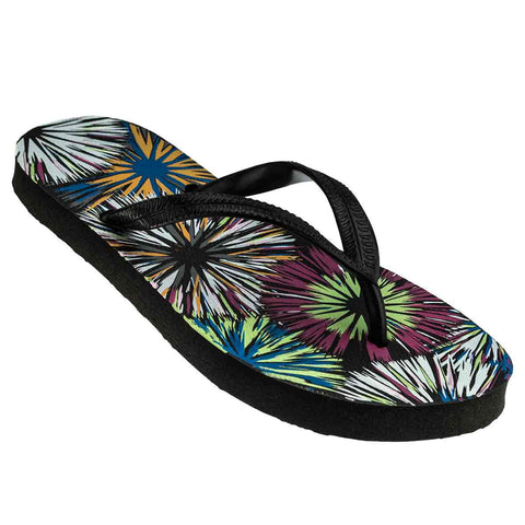 Bursts, BLACK STRAP, Kids Flip Flops, RK-KE4