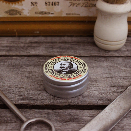 Captain Fawcett's Moustache Wax Expedition Strength