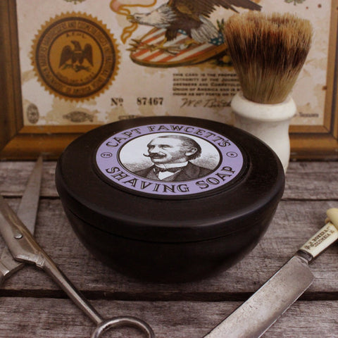 Captain Fawcett's Shaving Soap