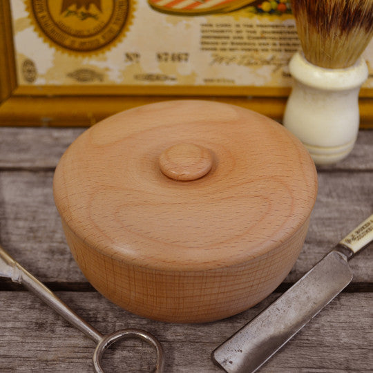 Col. Conk Light Wood Shave Bowl