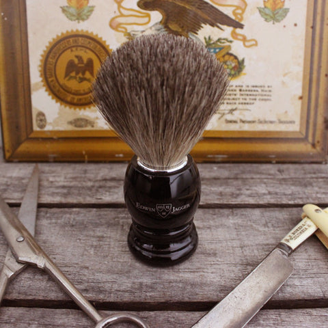 Edwin Jagger Black Shave Brush