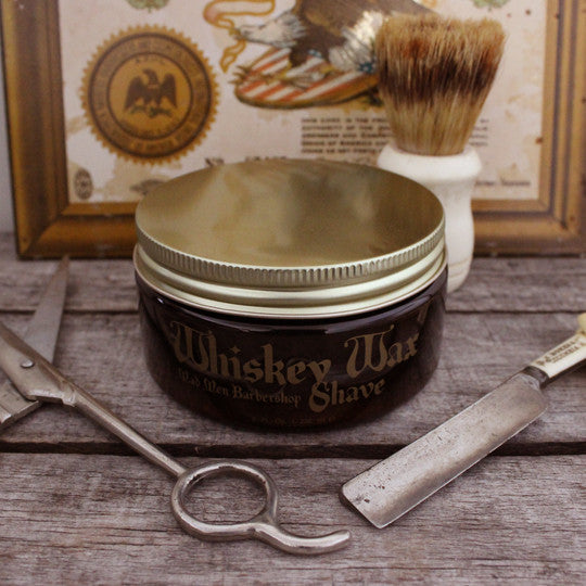 Whiskey Wax Shave Cream