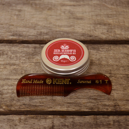 Mr. King's Marvellous Moustache Wax