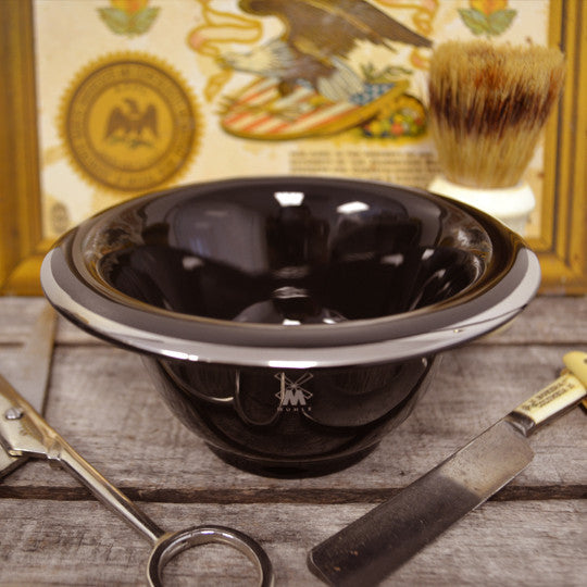 Muhle Black Shave Bowl