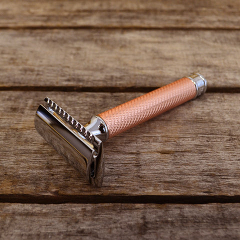 Muhle R89 Rose Gold Safety Razor