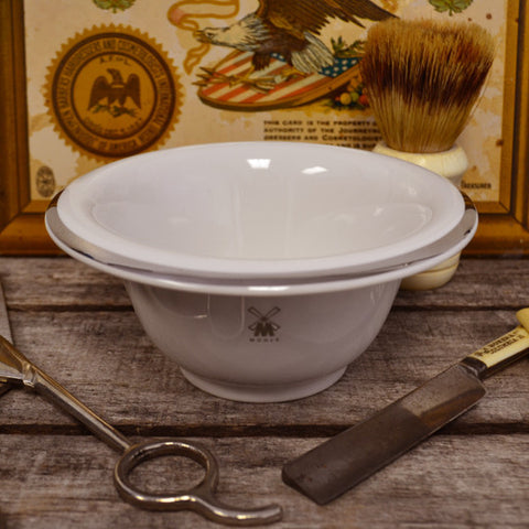 Muhle White Shave Bowl