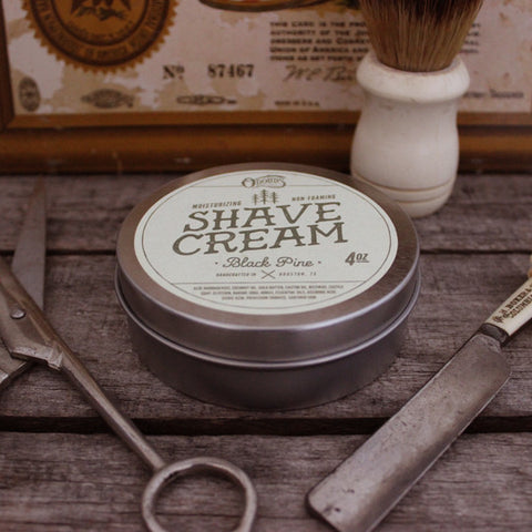 O'Douds Black Pine Shave Cream