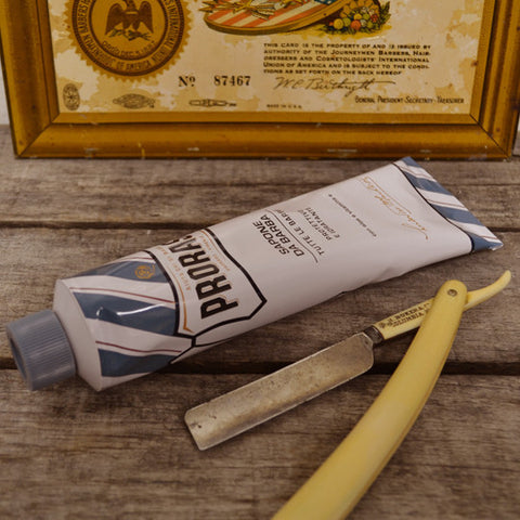 Proraso Shave Cream in Tube, Aloe & Vitamin E