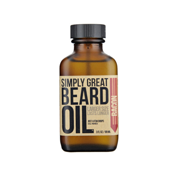 Simply Great Beard Oil Bacon Scent
