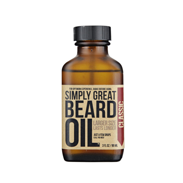 Simply Great Beard Oil Classic Scent