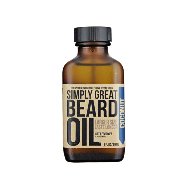 Simply Great Beard Oil Coconut Scent