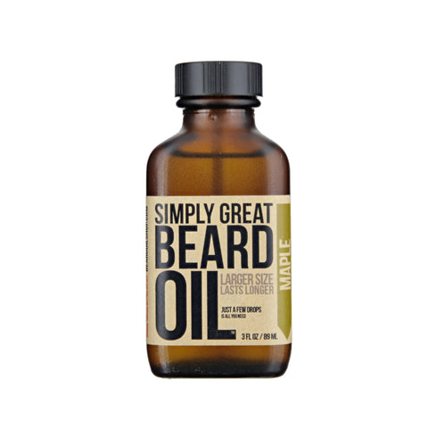 Simply Great Beard Oil Maple Scent
