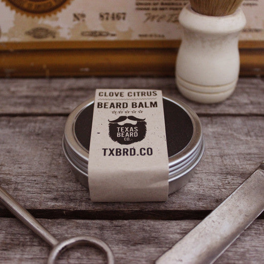 Texas Beard Co. Clove Citrus Beard Balm