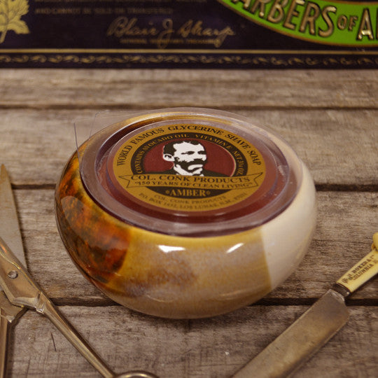 Col. Ichabod Conk Shave Bowl
