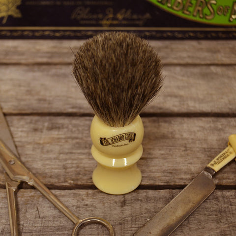 Col. Ichabod Conk Ivory Shave Brush