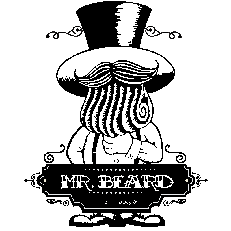Mr. Beard website logo