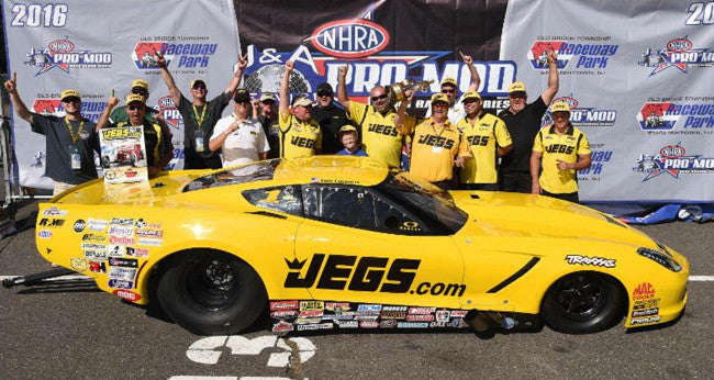 Troy Coughlin Wins NHRA Pro Mod at E'Town